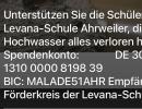 Spendenaufruf